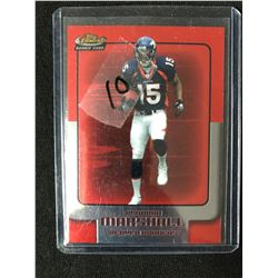 2006 Topps Finest #121 Brandon Marshall RC