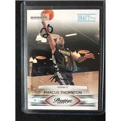 2009 Panini Prestige #191 Marcus Thornton New Orleans Hornets RC Basketball Card (450/699)