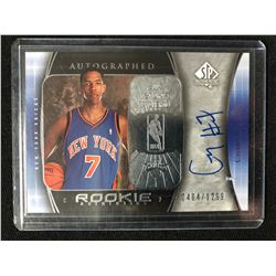 2005-06 UPPER DECK SP AUTHENTIC AUTOGRAPH #98 CHANNING FRYE (0404/1299)