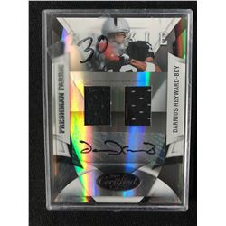 2009 Certified #226 Darrius Heyward-Bey Oakland Raiders Auto RC Football Card