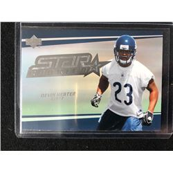 2008 Upper Deck Star Rookie Devin Hester #244