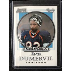 ELVIS DUMERVIL 2006 Bowman Sterling #35 Rookie Card