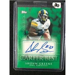 2009 Topps Career Best Autographs #CBA-SG Shonn Greene New York Jets