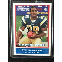 2004 TOPPS #215 STEVEN JACKSON FOOTBALL ROOKIE CARD