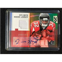 2006 Upper Deck 206 JERIOUS NORWOOD SPX Auto ROOKIE Jersey CARD