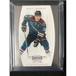 2011-12 Panini Dominion #82 Paul Stastny Colorado Avalanche Hockey Card
