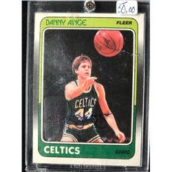 1988 FLEER DANNY AINGE BASKETBALL CARD