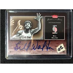 2005-06 FLEER BASKETBALL GREATS OF THE GAME #GG-BW BILL WALTON AUTO CARD