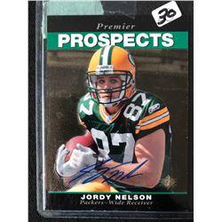Jordy Nelson 2008 Upper Deck SP Premier Prospects Rookie Card #278