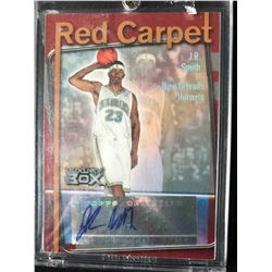 2004-05 Topps Luxury Box Red Carpet Autographs #RC-JRS JR Smith