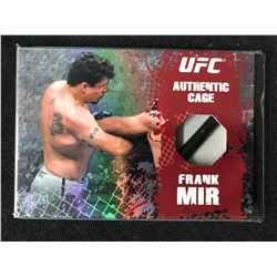 2010 TOPPS UFC AUTHENTIC CAGE #CR-FM FRANK MIR TRADING CARD