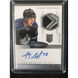 2013-14 DOMINION ROOKIE PATCH AUTOGRAPH RPA #161 TYLER TOFFOLI