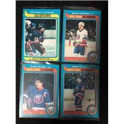 1979-80 O-PEE-CHEE HOCKEY CARD LOT (NY ISLANDERS)