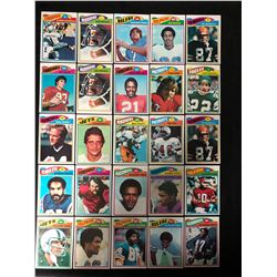 1977 TOPPS FOOTBALL CARD LOT (SOME ROOKIES)