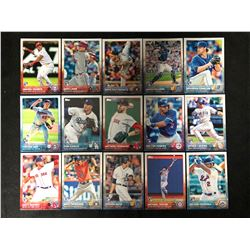 TOPPS BASEBALL ROOKIE CARD LOT
