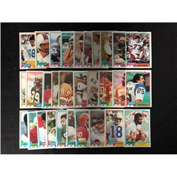 1980 TOPPS FOOTBALL TRADING CARDS