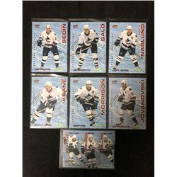 2003-04 Pacific Save-On-Foods Canucks Hockey Cards