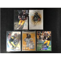PITTSBURGH STEELERS FOOTBALL CARD LOT