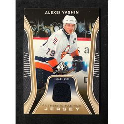 2006-07 SP Game Used Authentic Fabrics #AFAY Alexei Yashin