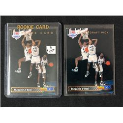 1992-93 UPPER DECK SHAQUILLE O'NEAL ROOKIE CARD LOT