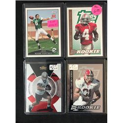FOOTBALL ROOKIE TRADING CARD LOT