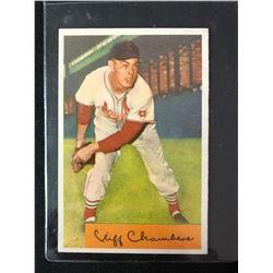 1954 Bowman #126 Cliff Chambers
