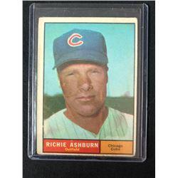 1961 Topps #88 Richie Ashburn