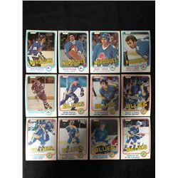1981-82 O-PEE-CHEE HOCKEY CARD LOT