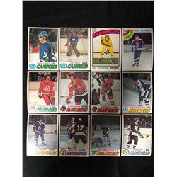 1970'S HOCKEY TRADING CARD LOT