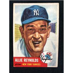 1953 Topps Baseball #141 Allie Reynolds
