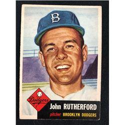 1953 TOPPS #137 JOHN RUTHERFORD