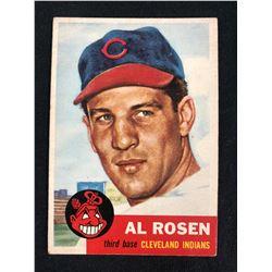 1953 TOPPS #135 ALBERT ROSEN