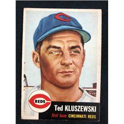 1953 TOPPS #162 TED KLUSZEWSKI