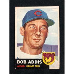 1953 Topps #157 Bob Addis