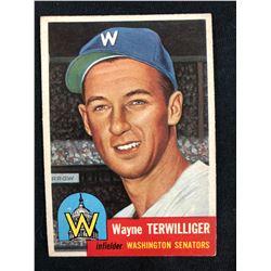 1953 Topps #159 WAYNE TERWILLIGER
