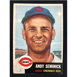 1953 Topps #153 Andy Seminick