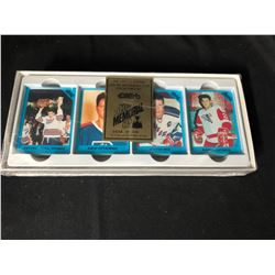 1990 LIMITED EDITION MEMORIAL CUP COLLECTOR'S  HOCKEY CARD SET (0689/3000)