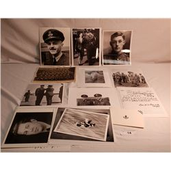 Lot Of Military Ephemera Photo's