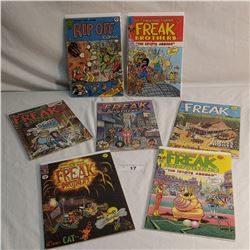 7 Freak Brothers Comics