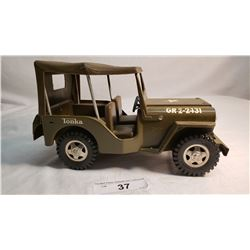 Tonka Military Jeep