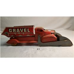 Marx Sand And Gravol Truck