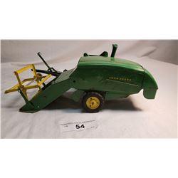 Tin John Deere Hay Machine