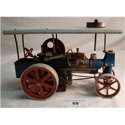 German Old Smokey Steam Tractor