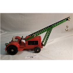 Meccano Tractor With Front Lift Boom