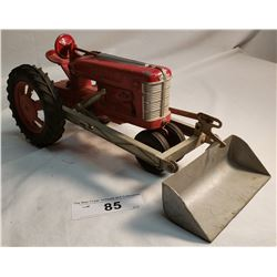 Diecast Hubley Tractor With Loader