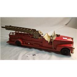 Large Diecast Hubley Fire Truck