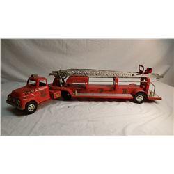 Large Tonka Fire Ladder Truck