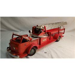 Model Fire Ladder Truck