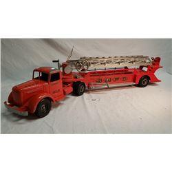 Smith Miller Diecast Fire Ladder Truck