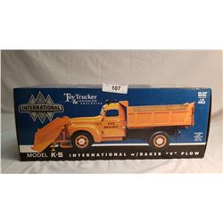 International Boxed Snow Plow Truck